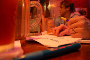 DC bars with trivia